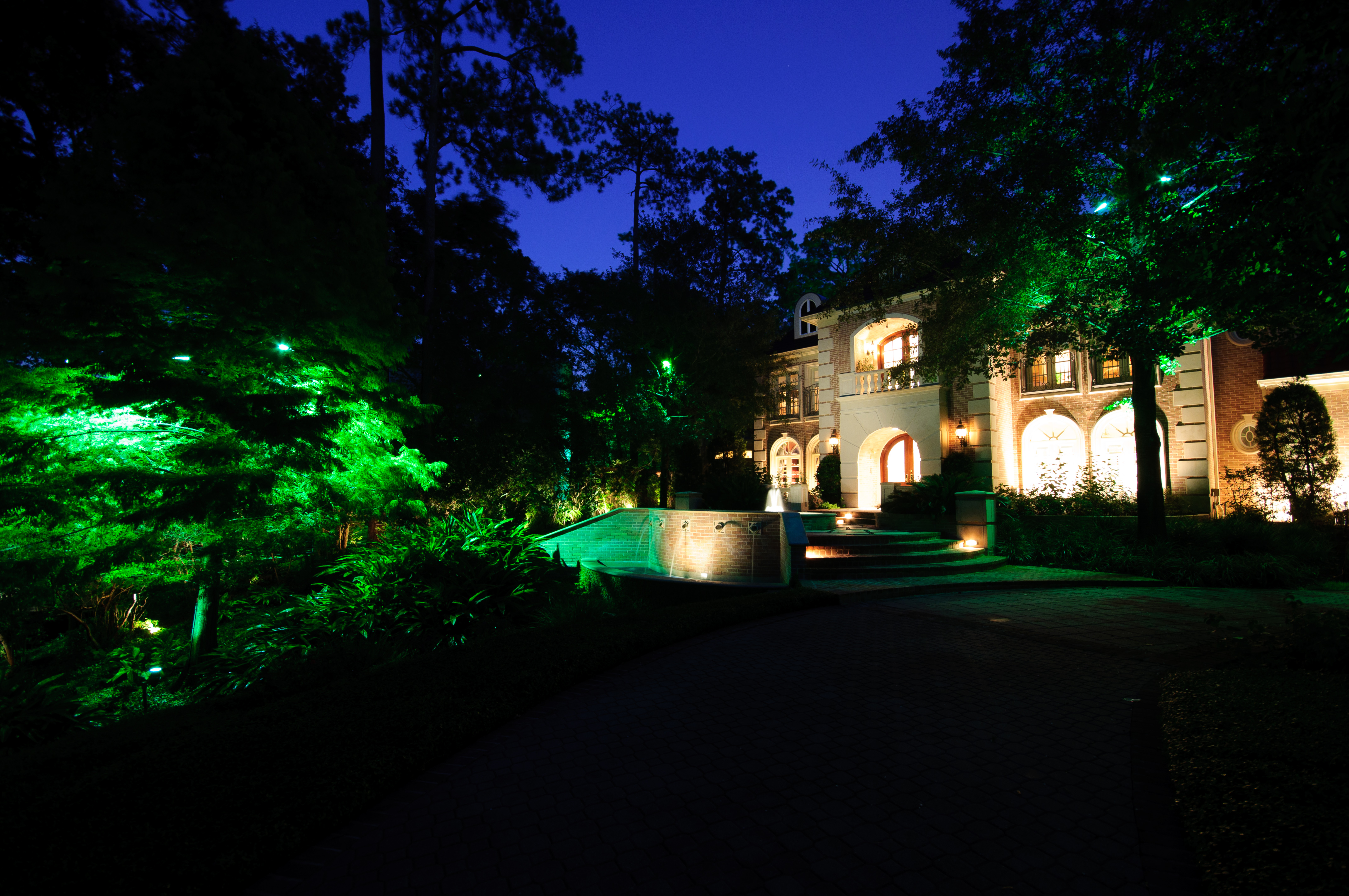 custom landscape lighting ideas. Landscape Lighting Installation Custom Ideas
